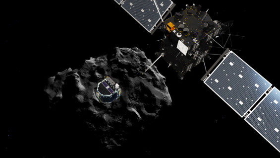 Philae finds alien life?