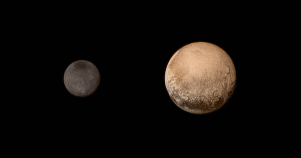 NASA New Horizons Closest to Pluto