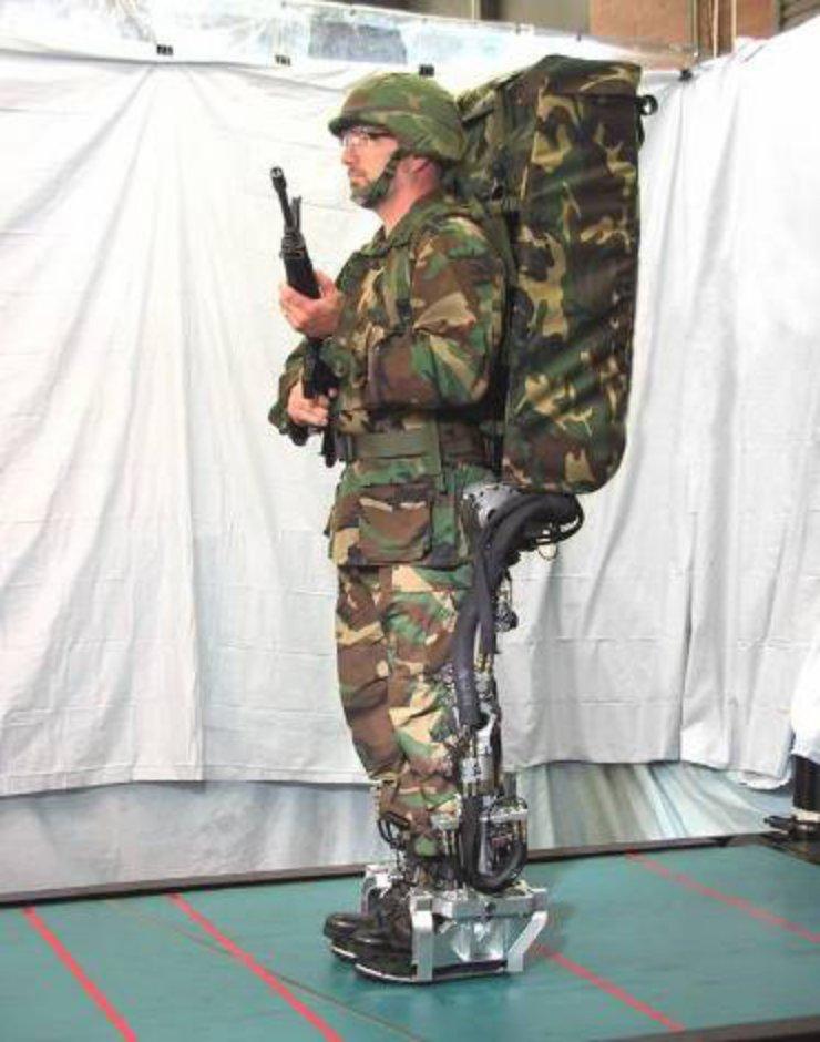 DARPA exoskeleton